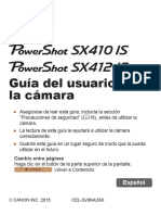 PowerShot SX410 is SX412 is Camera User Guide Smartphone Version ES