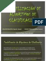 Paralelizacion de Algoritmos de Clasificacion