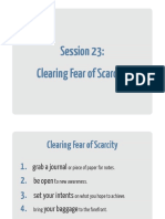 23 Clearing Fear of Scarcity Workbook