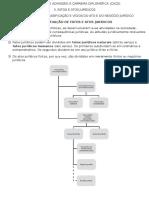 3.1 − ELEMENTOS, CLASSIFICAÇÃO E VÍCIOS DO ATO E DO NEGÓCIO JURÍDICO