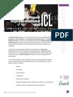 Convocatoria Grupos ICL | FeNaL2017