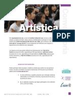 Convocatoria Artística (1)  | FeNaL2017