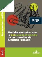 Medidas Concretas Para Desburocratizacion de at Prim (Semfyc. 2008)
