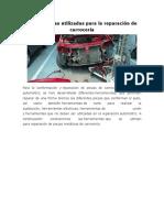Herramientas utilizadas para la reparación de carrocería.docx