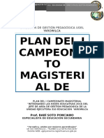 Plan Dejuegos Deportivos Escolares 2016