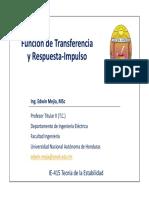 (Función de Transferencia y Respuesta al Impulso).pdf