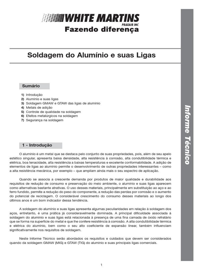 Soldagem do aluminio e suas ligaspdf ccuart Image collections
