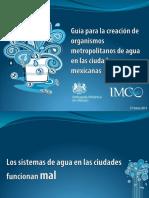Presentacion Organismos Metropolitanos de Agua 27032014