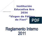 Reglamento Interno - 2011