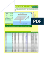 Planillas de Calculo Para El Predimensionamiento en Columnas