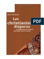 Les Christianismes Disparus