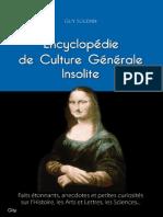 Guy Solenne - Encyclopédie de Culture Générale Insolite