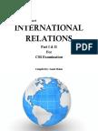 International Relations Part I & II