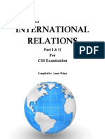 International Relations Part I & II