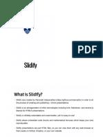 Slidify Tutorial Slides - JHU/Coursera