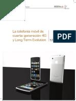 La telefonía móvil de 4ta generación $G y long term evolution