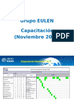 Capacitación Noviembre 2012.