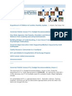 Massachusetts DCF Monthly Update FY 2011