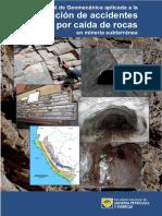 Manual Geomecanica Aplicada Prevencion Accidentes Caida Rocas