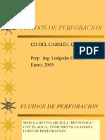 Fluidos de Perforacion ( 1)