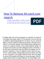 How to Remove All-czech.comsearch