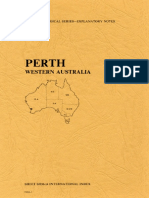 Explanatory Notes on the Perth Geological Sheet