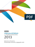 Congreso Ypfb Gas y Petroleo 2013