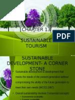 Chpt 13 Sustainable Tourism
