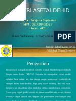 Ppt Pik2 Industri Acetaldehyde