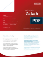 Brief Guide to Zakah