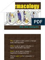 Farmakologi Obat Emergensi Fkg 2009
