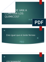Chistes Quimicos