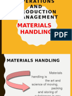 Materialshandling NEW