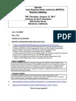 MPRWA Agenda Packet 01-12-17