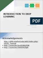 Deep learning (by Steve Tjoa)