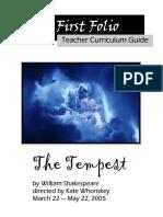 Folio Tempest Entire