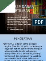 Kelompok 5 Konsep Dasar Fertilitas