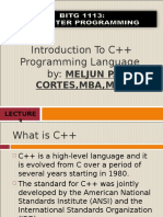 MELJUN CORTES Introduction_to_C_Programming_Complete