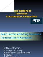 Basic Factors of Television Transmission & Reception (1)