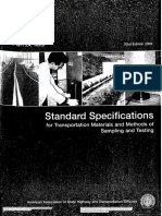 AASHTO Part 2A - 03 (Standard Specification for Transportation Materials and Method of Sampling & Testing (Part 2A))