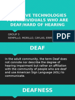 Assistive Technologies for Individuals Who Are Deaf [Autosaved]