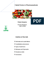 Polymorphs Lupin PPT
