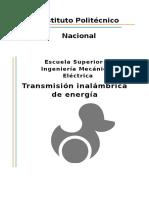 transmisión de energía inalambrica
