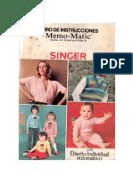 Instrucciones Memo Matic Singer