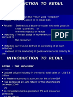 Introduction to Retail