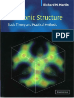 218603416 Electronic Structure Basic Thoery and Practical Methods Richard M 1 Martin Cambridge
