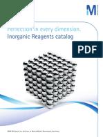 MERC Inorganic Reagents 2014