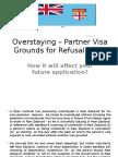 Overstaying – Partner Visa Grounds for Refusal in NZ