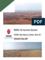 Menard - Soil Improvement Specialists - Afcons - March 2011 - Mumbai