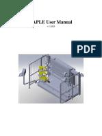 TAPLE User Manual V1.0